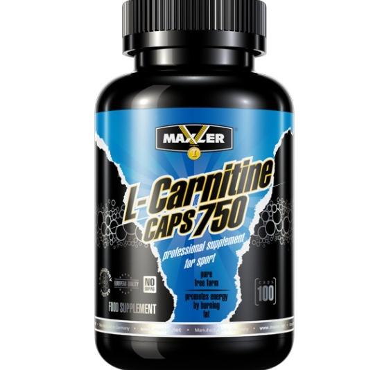 Л-Карнитин Maxler L-Carnitine 750 100caps - купить по специальной ...