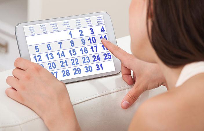Расчет дней овуляции – безопасные дни для секса