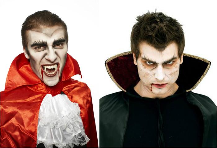 грим для мужчин на хэллоуин