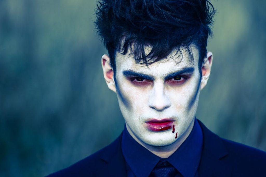 грим для парня на хэллоуин