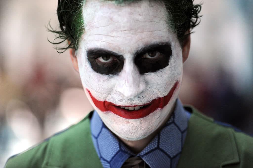 макияж на хэллоуин мужской