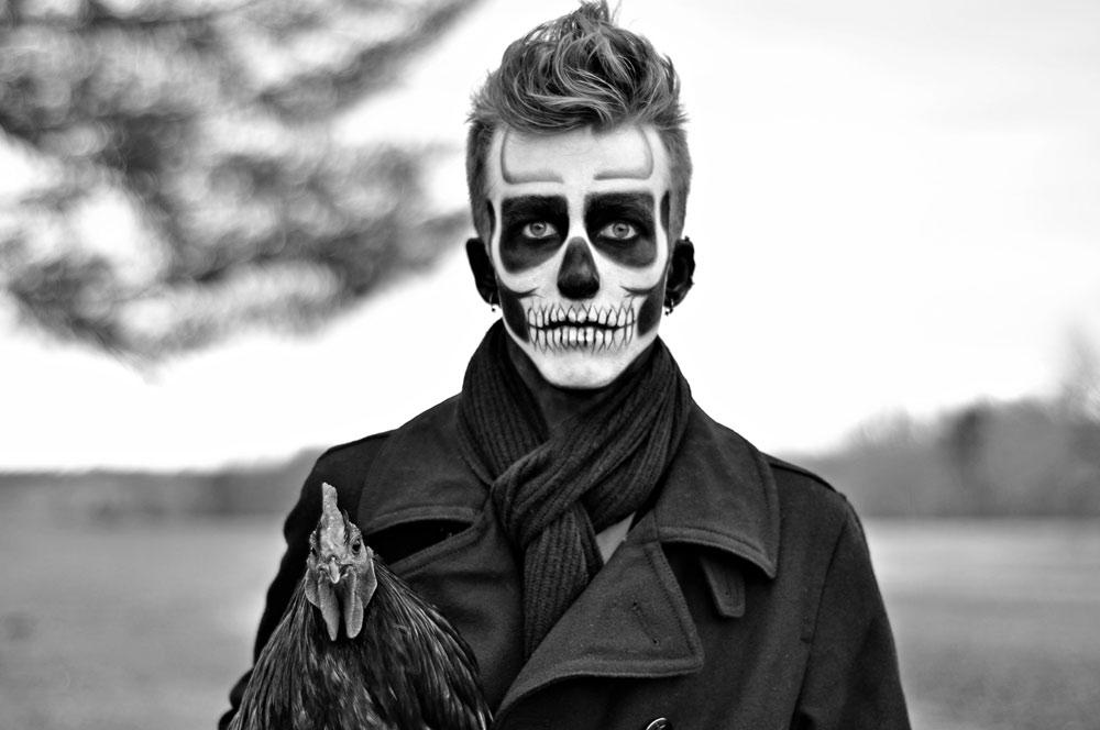 грим на хэллоуин для парней