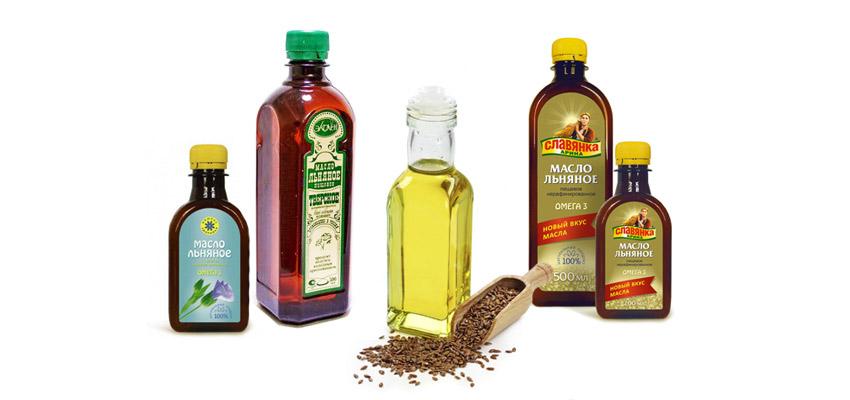 выбрать льняное масло