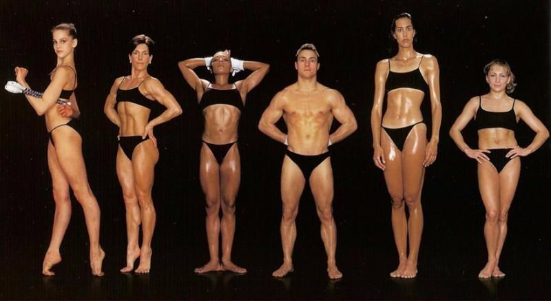 Как выглядят тела спортсменов • НОВОСТИ В ФОТОГРАФИЯХ