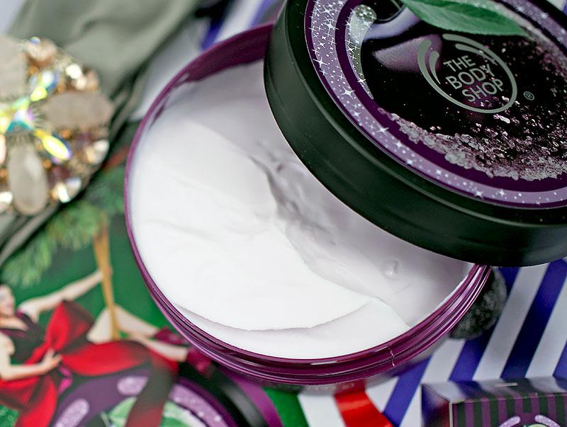 Рождественская коллекция The Body Shop - Зимняя слива: масло, скраб ...