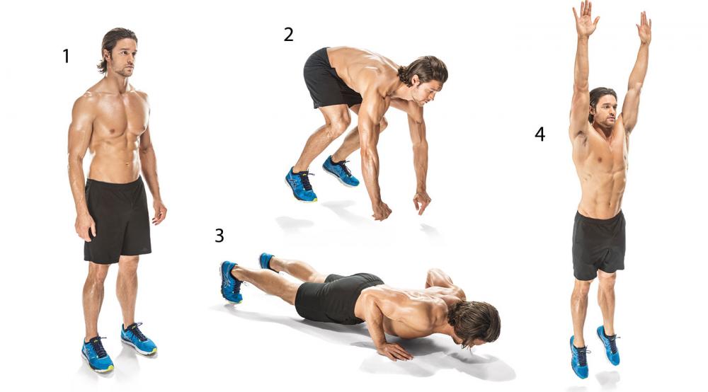 упражнения берпи