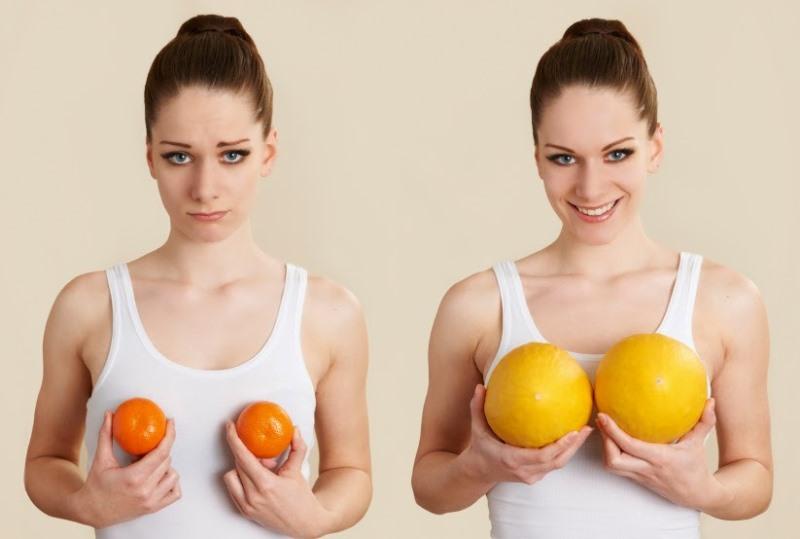 Почему не растет грудь: рацион и упражнения для бюста, возраст ...