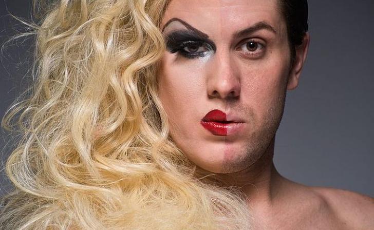 Курянам помешал гуляющий трансвестит