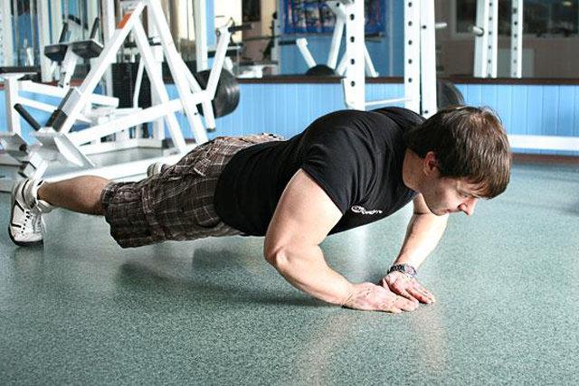 отжимания от пола какие мышцы качаются