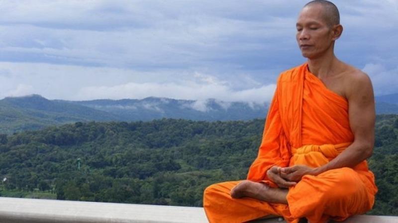 тибетских монахов