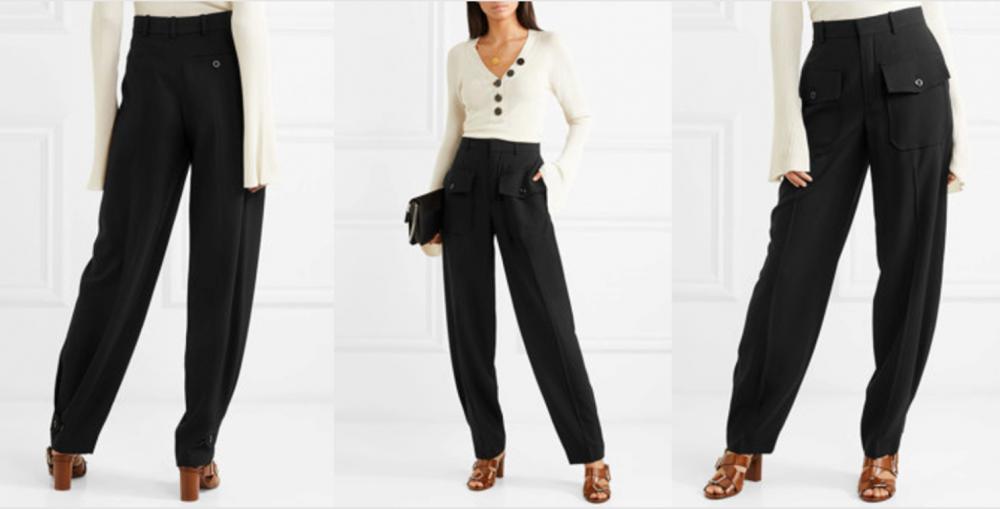 брюки с завышенной талией (главный ключ)