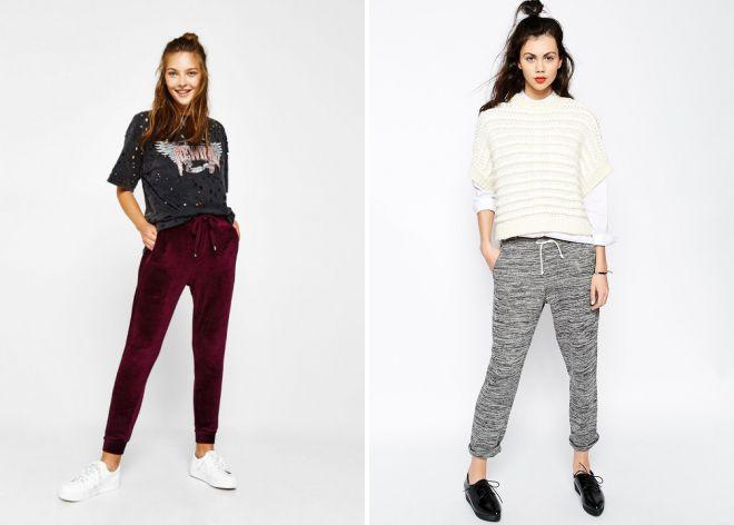 Модные женские джоггеры – джинсы, брюки, спортивные, брендовые ...