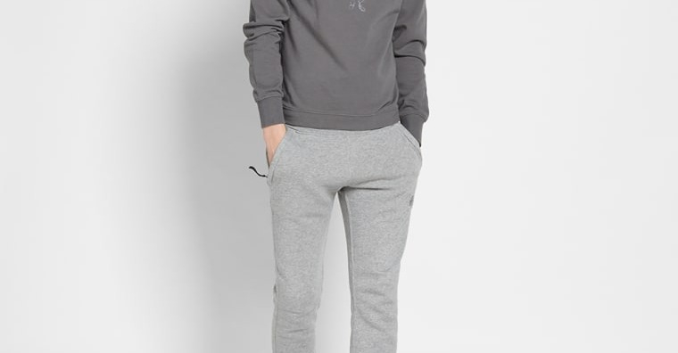 Stone Island Patch Jogging Pant (Grey Marl) | END.