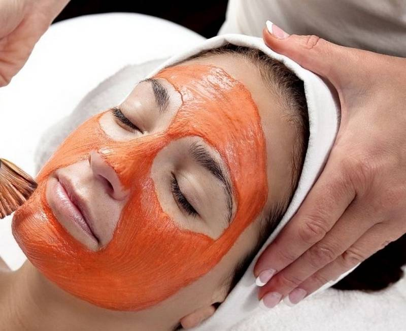 томатная маска для сужения пор на лице