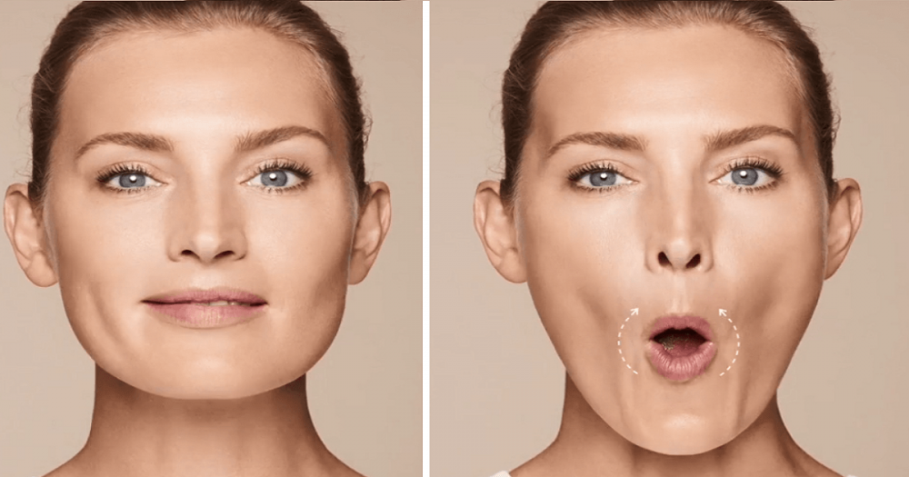 визуально увеличить губы с помощью макияжа