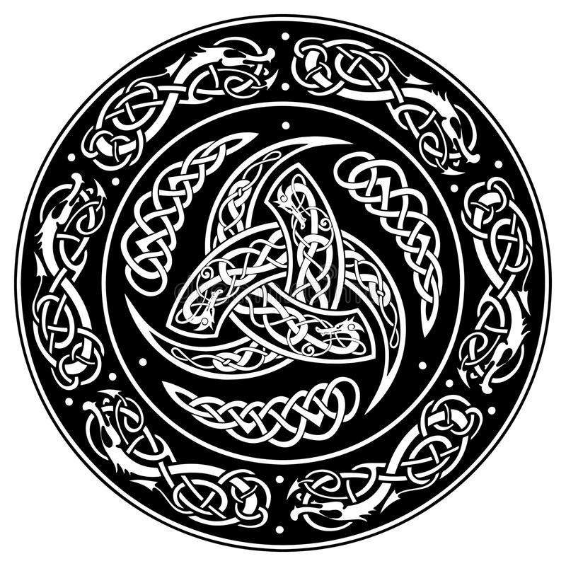 кельтские узоры тату и их значение