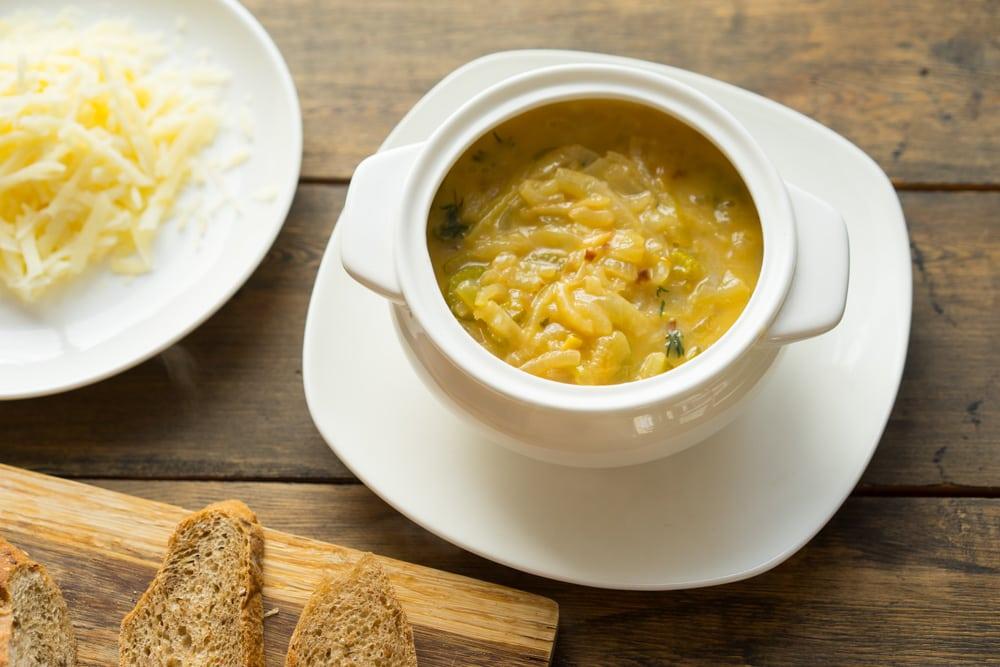 Луковая диета: рецепт супа для похудения и меню на неделю