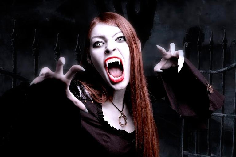 прическа вампирши
