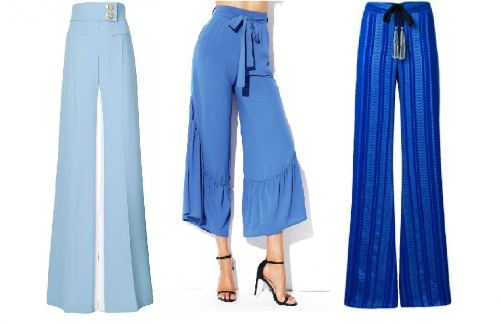 темно синие брюки женские