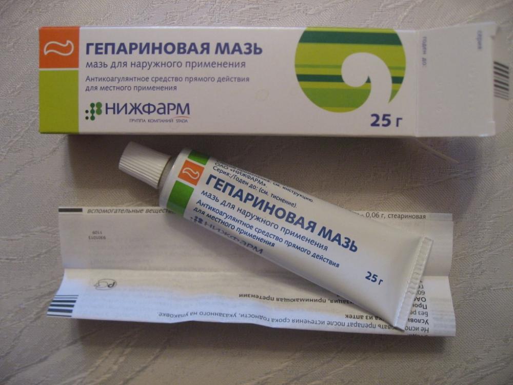 Гепариновая мазь, инструкция по применению