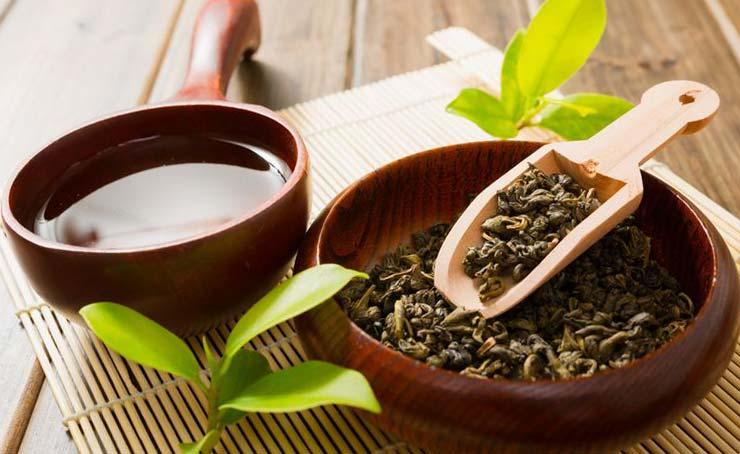 Зеленый чай для волос: 8 масок, ополаскивание и отзывы