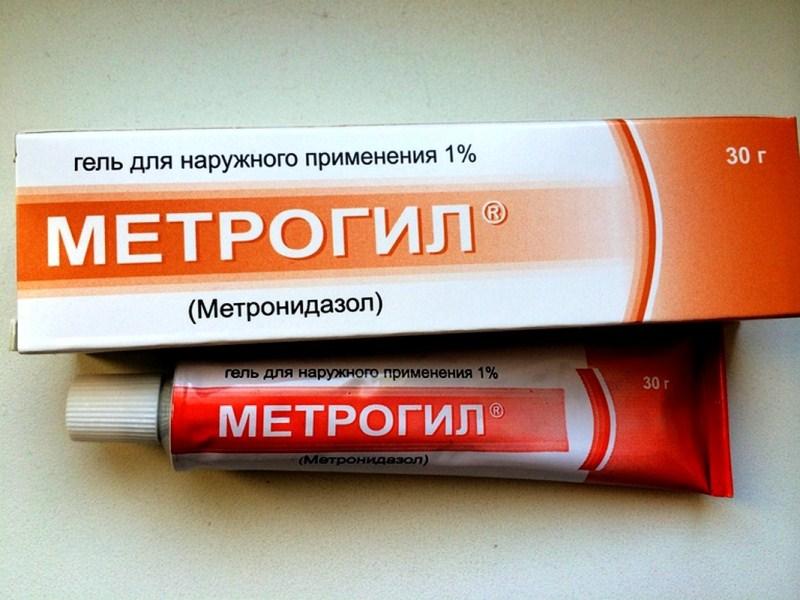 Метрогил гель: описание и применение препарата