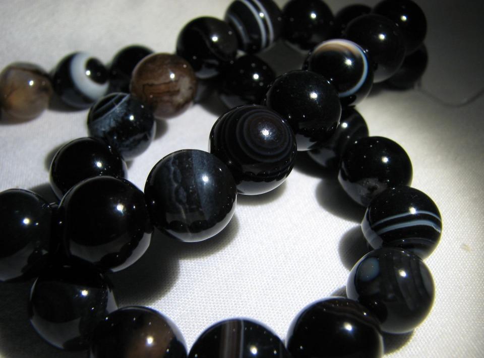 Агат натуральный черный – купить в интернет-магазине на Ярмарке ...