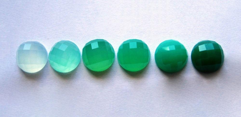 Хризопраз - Зеленый агат