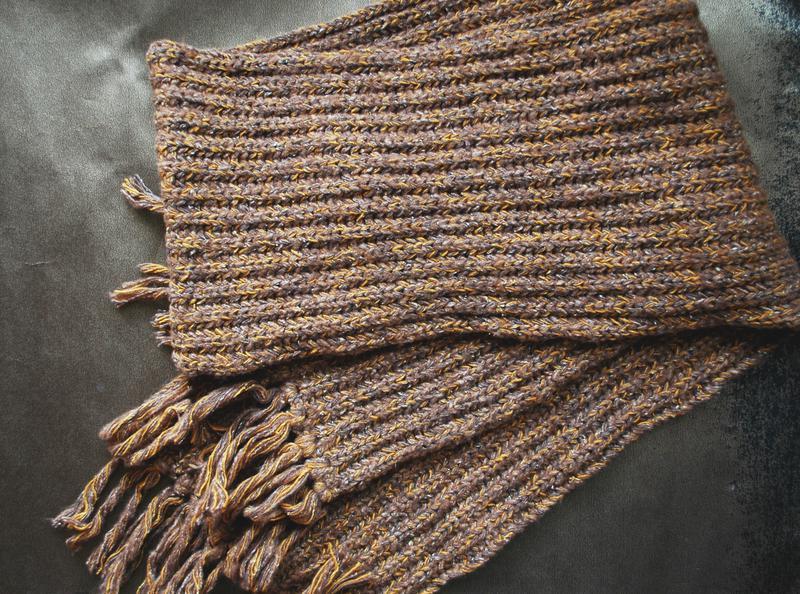 английская резинка спицами схема вязания (главный ключ)