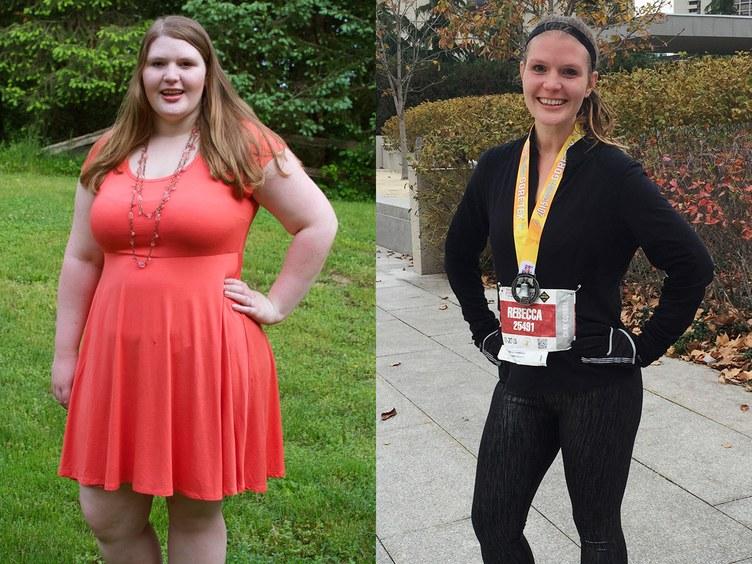 Истории похудения с фотографиями