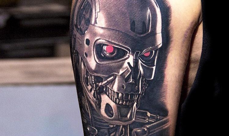 татуировки биомеханика и кибермеханика