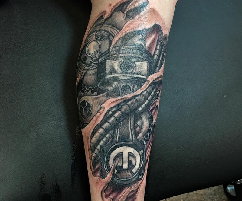 татуировки механика