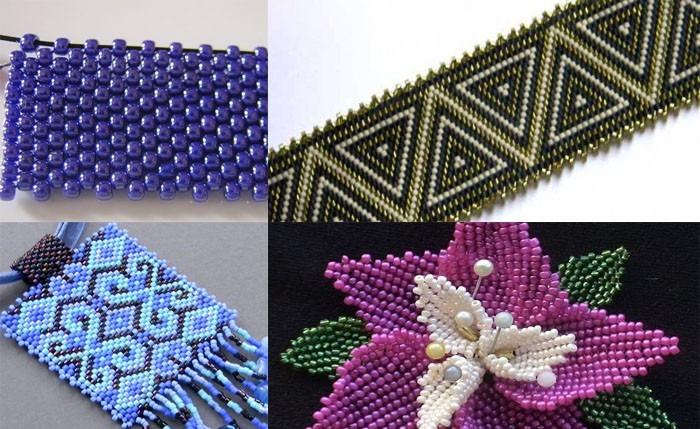 Мозаичное плетение картин и икон бисером своими руками | Магия бисера
