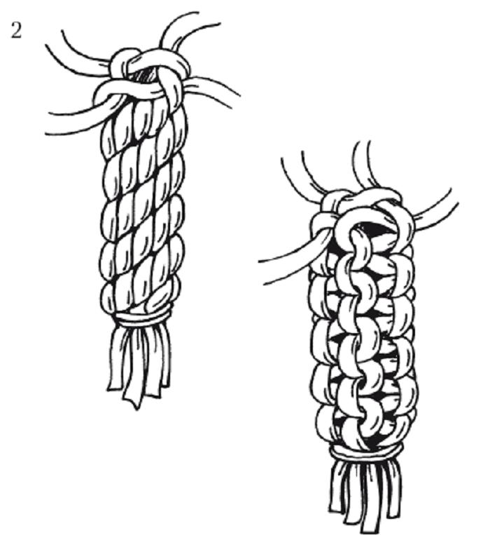 макраме плетеные украшения