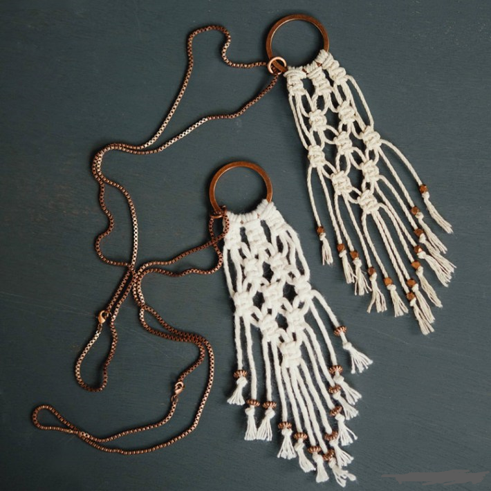 макраме для начинающих схемы плетения кашпо