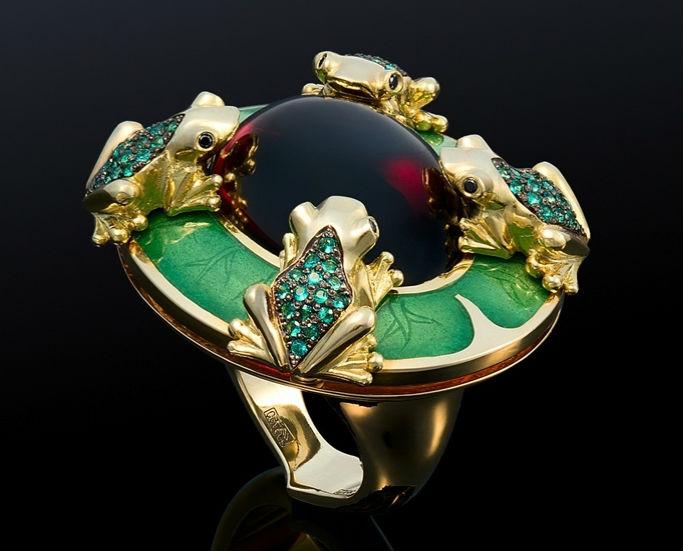 Сочетание камней в ювелирных изделиям | Все о драгоценностях