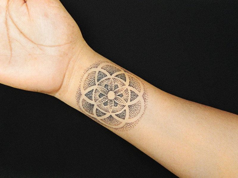 мандала тату значение символов