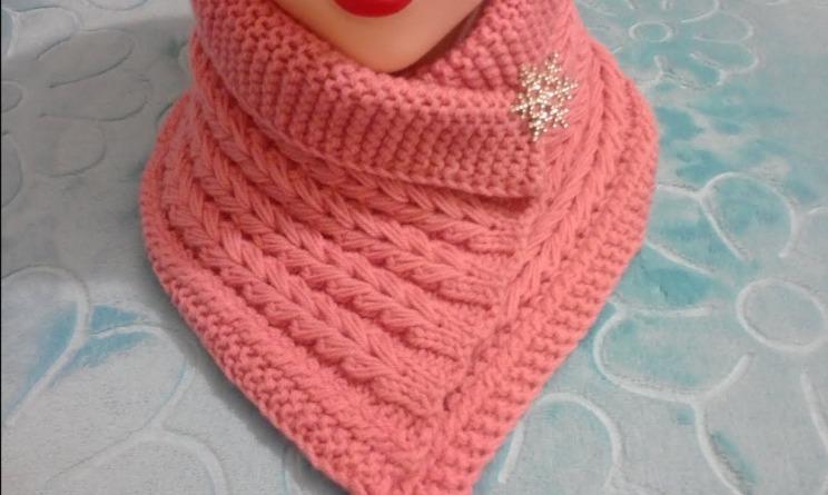 шарф-манишка