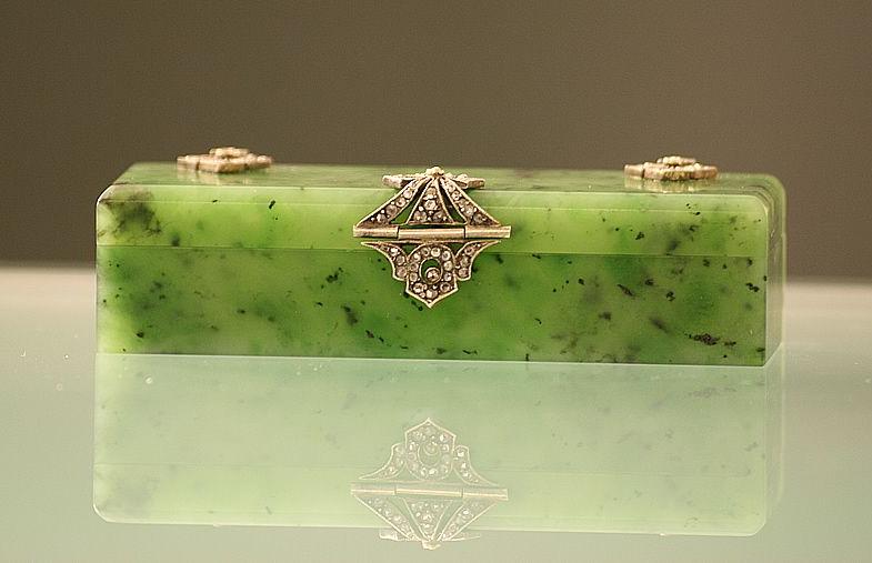 Шкатулка из нефрита для украшений | 5 Камней