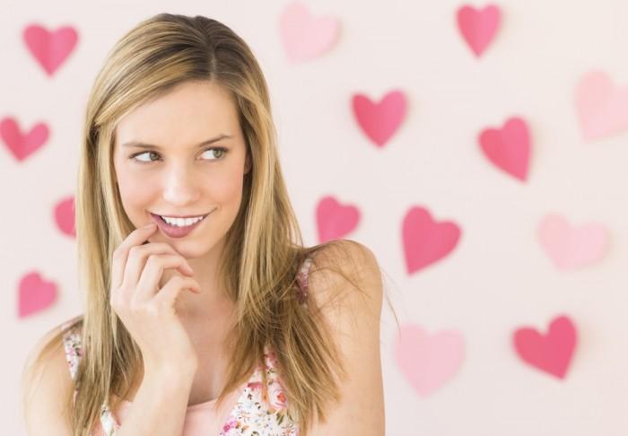 Признаки влюбленности у женщин