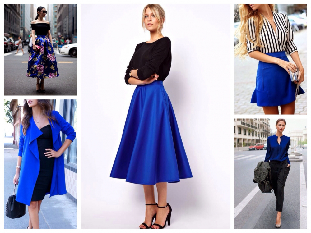синий цвет сочетание с другими цветами