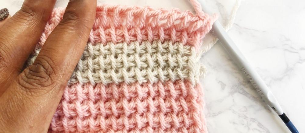 тунисское вязание крючком для начинающих