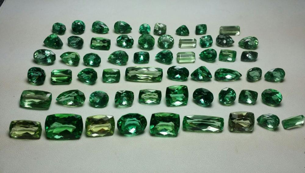 Зеленый Турмалин: свойства камня