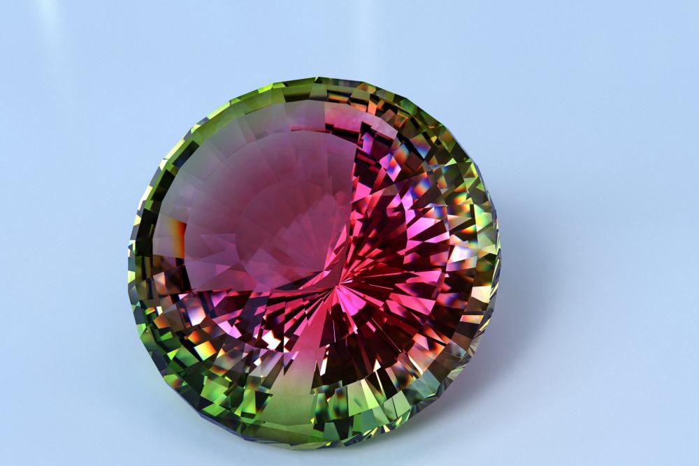 Арбузный Турмалин: фото камня, свойства