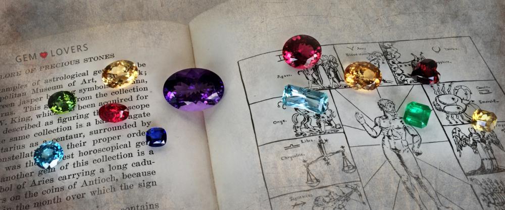 Драгоценные камни по знаку зодиака (гороскоп)