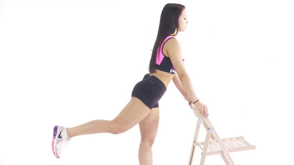 Махи ногой назад - YouTube