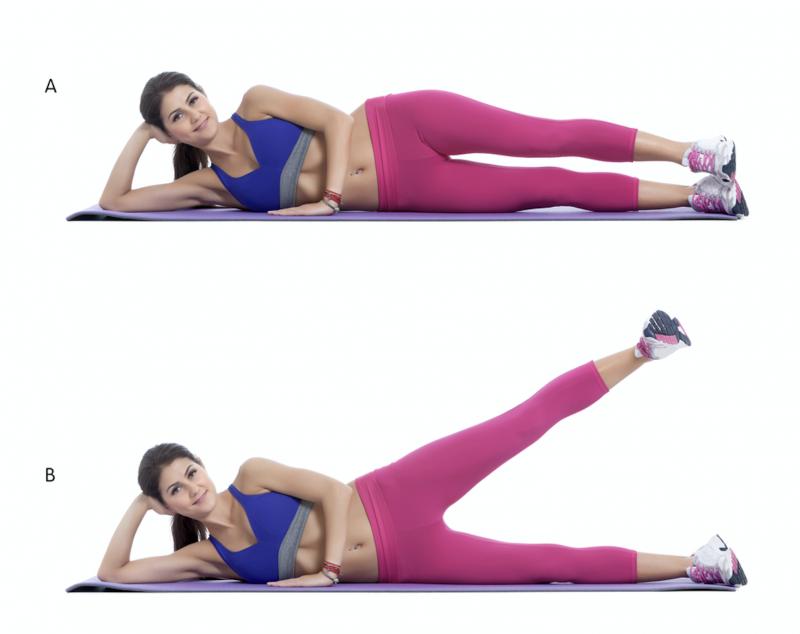 3 минуты перед сном: Простые упражнения, чтобы похудели ноги - Lifter