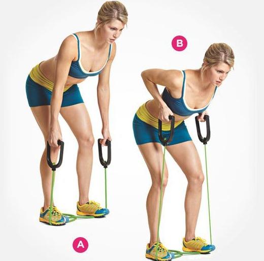 резиновая лента для тренировок