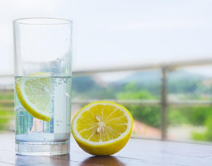 лимон для похудения на ночь