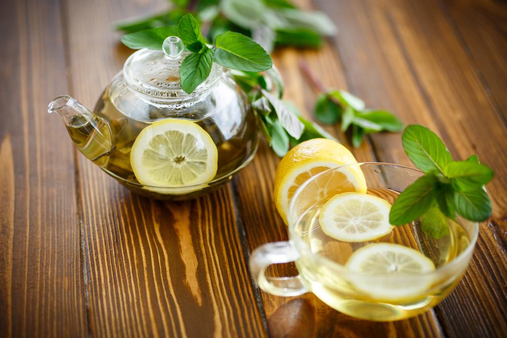 Зеленый чай с мятой и лимоном - Рецепты. Кулинарные рецепты блюд с ...